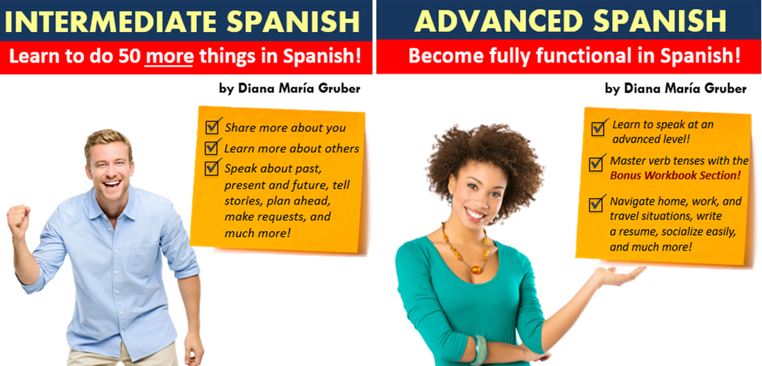 Learn Spanish online - Intermediate and Advanced bundle