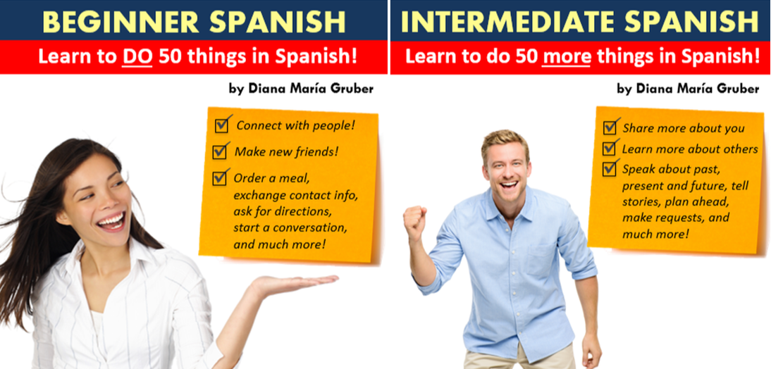 Learn Spanish online - Beginners and Intermediate bundle