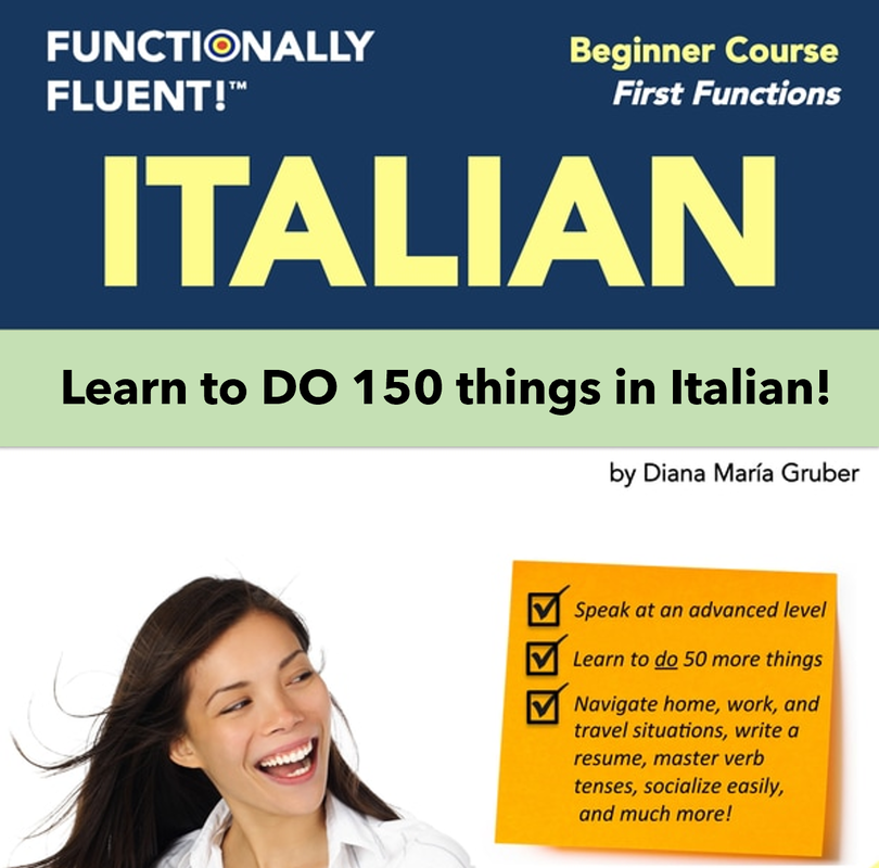 Functionally Fluent Online Italian Beginners Course